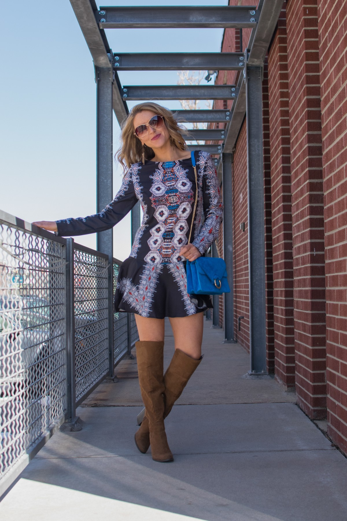 amber wilkerson boho spring  outfit