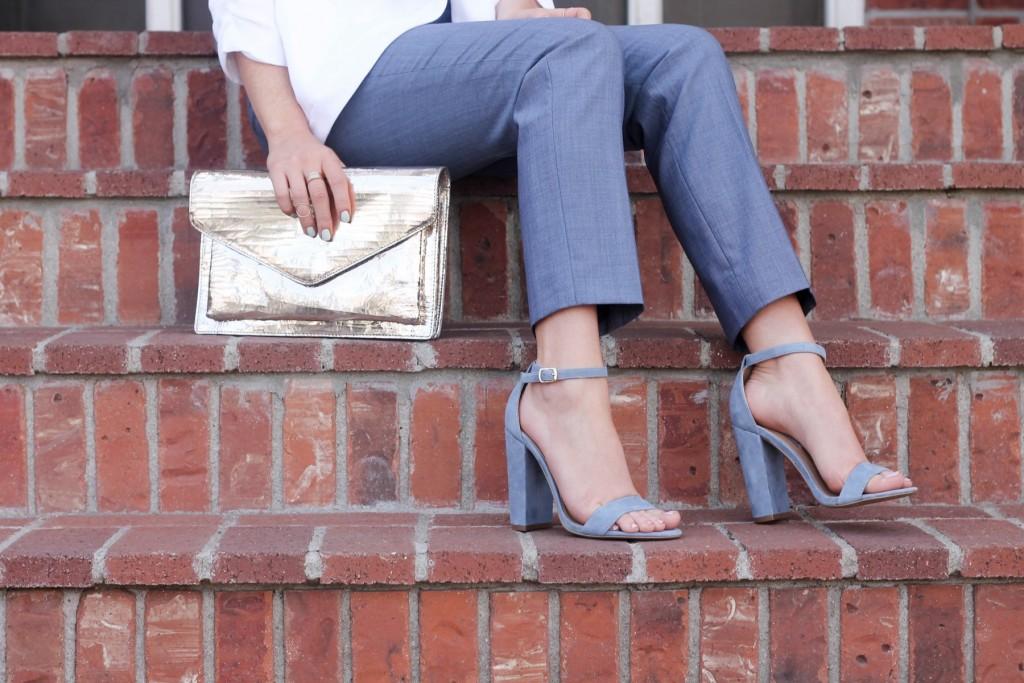blue suede steve madden shoes