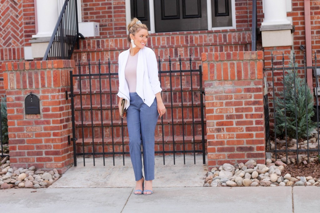 spring business casual outfit