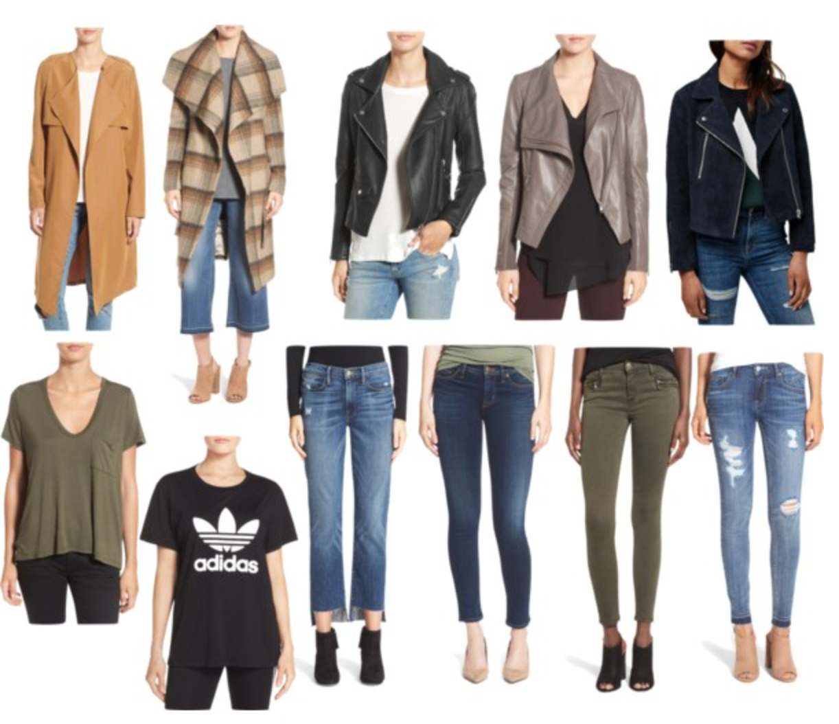 Nordstrom anniversary sale jeans and coat picks