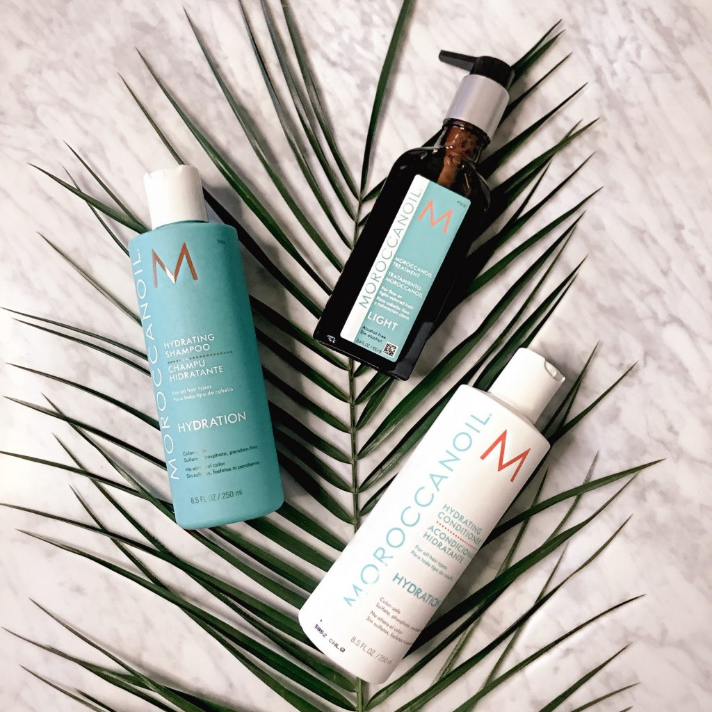 moroccanoil hydrating shampoo and conditioner